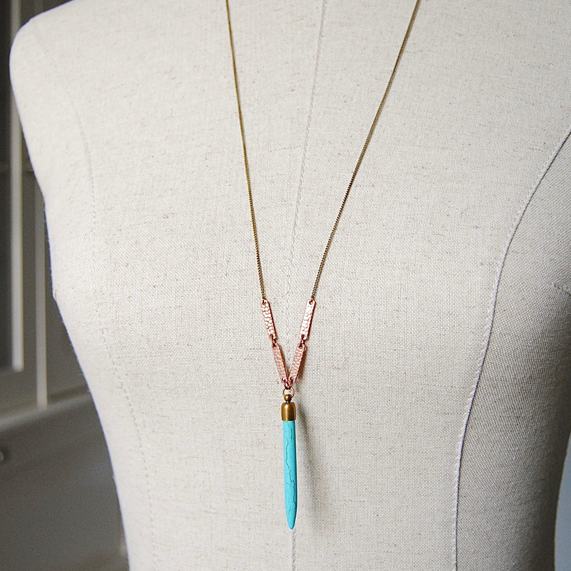 BOHO BAR NECKLACE