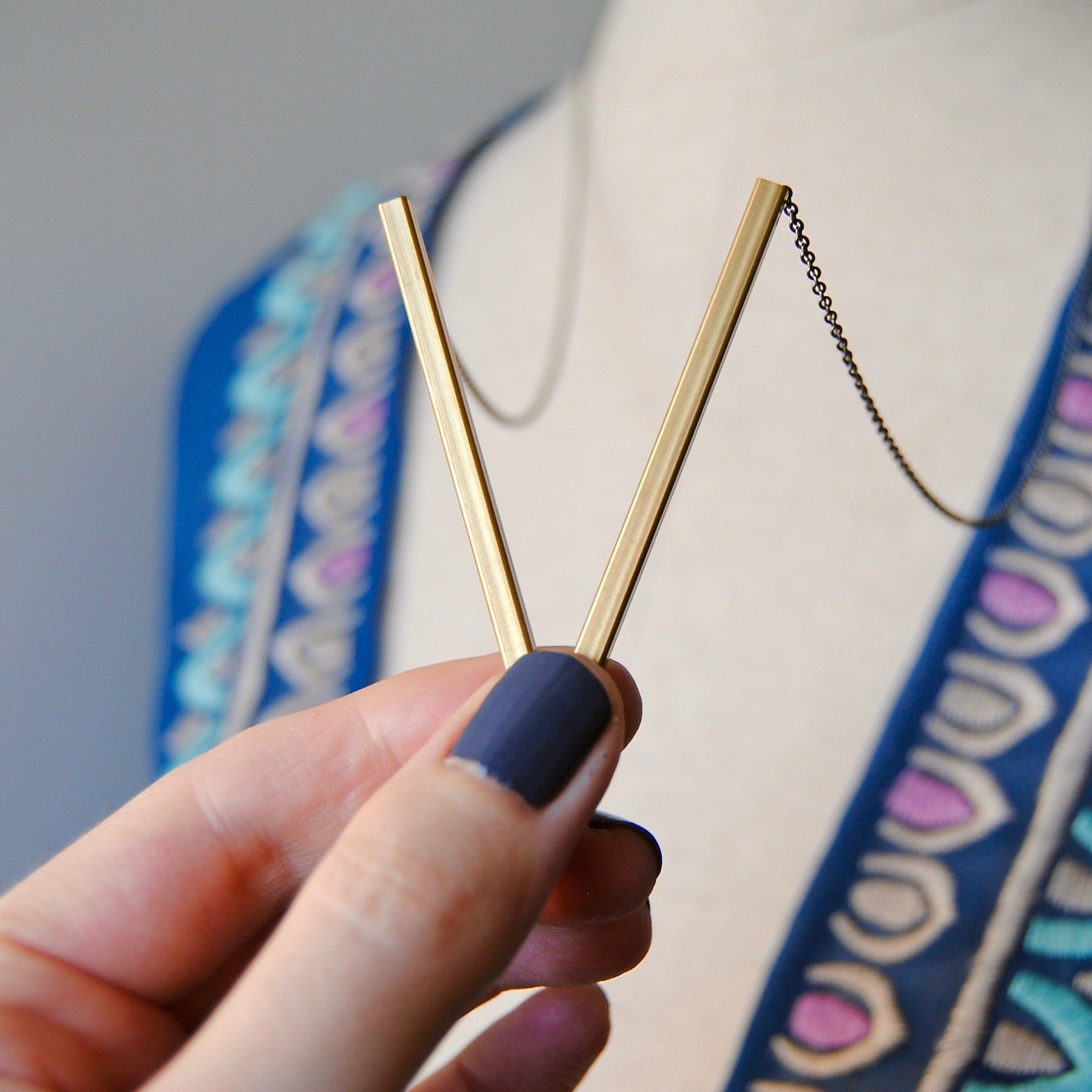 SKINNY BARS NECKLACE