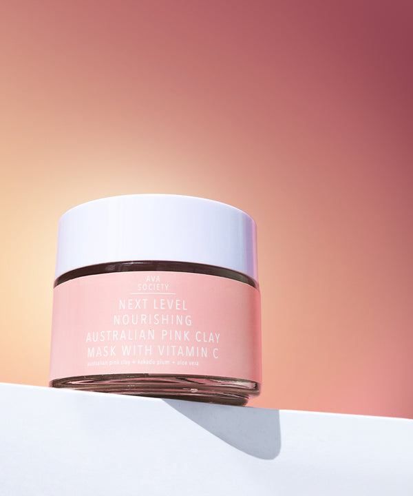 Next Level Nourishing Australian Pink Clay Mask With Vitamin C