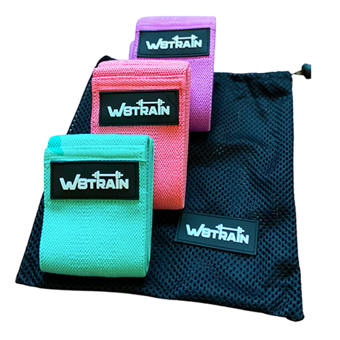 3 Pack W8TRAIN Hip Bands Set