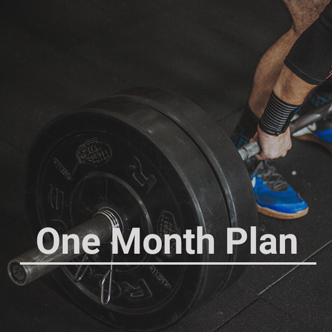 Personal Coaching from W8TRAIN's John Thomas - One Month Plan
