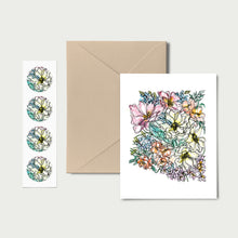 Load image into Gallery viewer, ARIZONA WILD: Set of 8 Notecards + Kraft Envelopes + Stickers