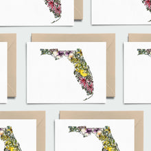 Load image into Gallery viewer, FLORIDA WILD: Set of 8 Notecards + Kraft Envelopes + Stickers