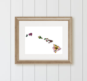 HAWAII State Fine Art Print