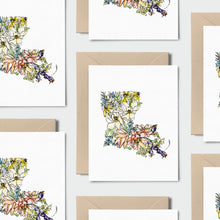 Load image into Gallery viewer, LOUISIANA WILD: Set of 8 Notecards + Kraft Envelopes + Stickers