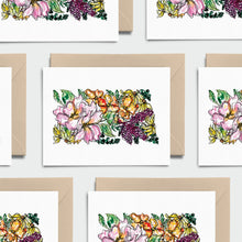 Load image into Gallery viewer, NORTH DAKOTA WILD: Set of 8 Notecards + Kraft Envelopes + Stickers