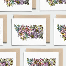 Load image into Gallery viewer, MONTANA WILD: Set of 8 Notecards + Kraft Envelopes + Stickers