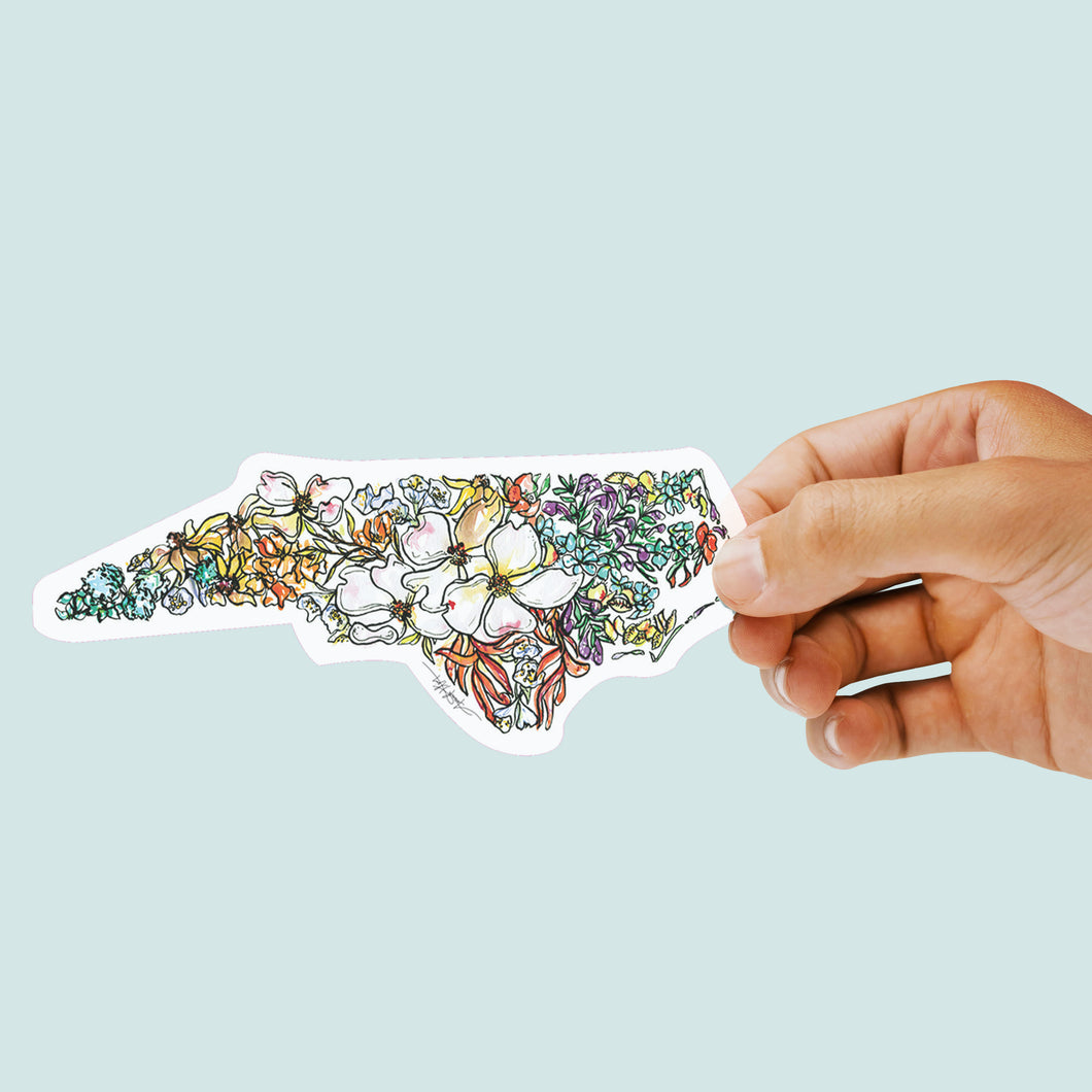 NORTH CAROLINA Vinyl Sticker