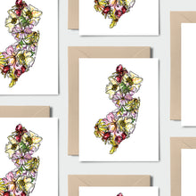 Load image into Gallery viewer, NEW JERSEY WILD: Set of 8 Notecards + Kraft Envelopes + Stickers
