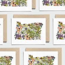 Load image into Gallery viewer, OREGON WILD: Set of 8 Notecards + Kraft Envelopes + Stickers