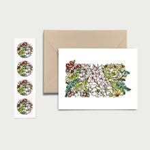 Load image into Gallery viewer, PENNSYLVANIA WILD: Set of 8 Notecards + Kraft Envelopes + Stickers