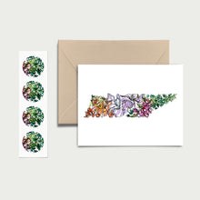 Load image into Gallery viewer, TENNESSEE WILD: Set of 8 Notecards + Kraft Envelopes + Stickers