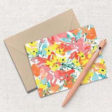 Load image into Gallery viewer, Thrill of Hope // Set of 8 Notecards, Kraft Envelopes and Stickers
