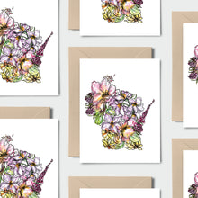 Load image into Gallery viewer, WISCONSIN WILD: Set of 8 Notecards + Kraft Envelopes + Stickers