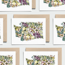 Load image into Gallery viewer, WASHINGTON WILD: Set of 8 Notecards + Kraft Envelopes + Stickers