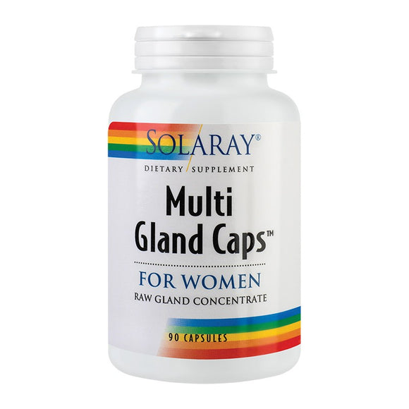 Multi Gland Cap For WOMEN, 90cps, Secom