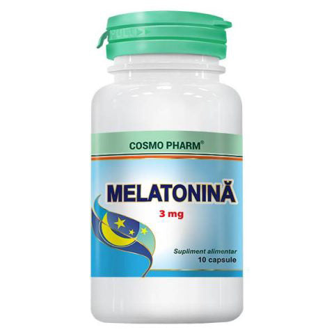 Melatonina 3mg, 10 cps, Cosmo Pharm