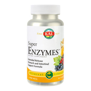 Super Enzymes, 30 tb, Secom