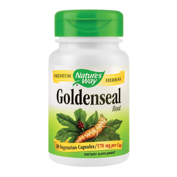 Goldenseal 570mg, 30 cps, Secom