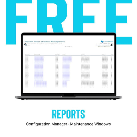 Configuration Manager - Maintenance Windows - System Center Dudes