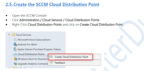 SCCM Cloud Distribution Point Installation - System Center Dudes