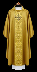Embroidered  Brocade Chasuble