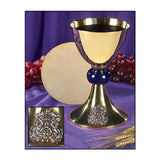 Blessed Mother Chalice and Paten Set