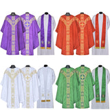 Chasuble Complete Set all 4 colors Vestment and Stole