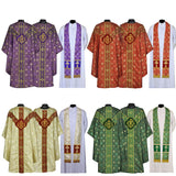 Chasuble Complete Set All 4 Colors