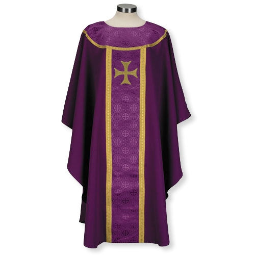 San Marino Chasuble Purple Vestments For Clergy