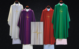All Seasons Vestment Set Light Modern Chasuble Wool