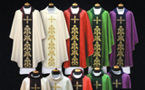 Vestment Set Light Modern Viscose on a Satin Belt Chasuble