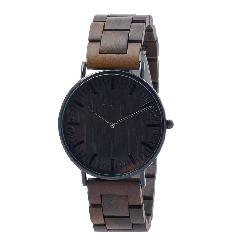 Hiili - Unisex rannekello (40mm) - Havu Watches