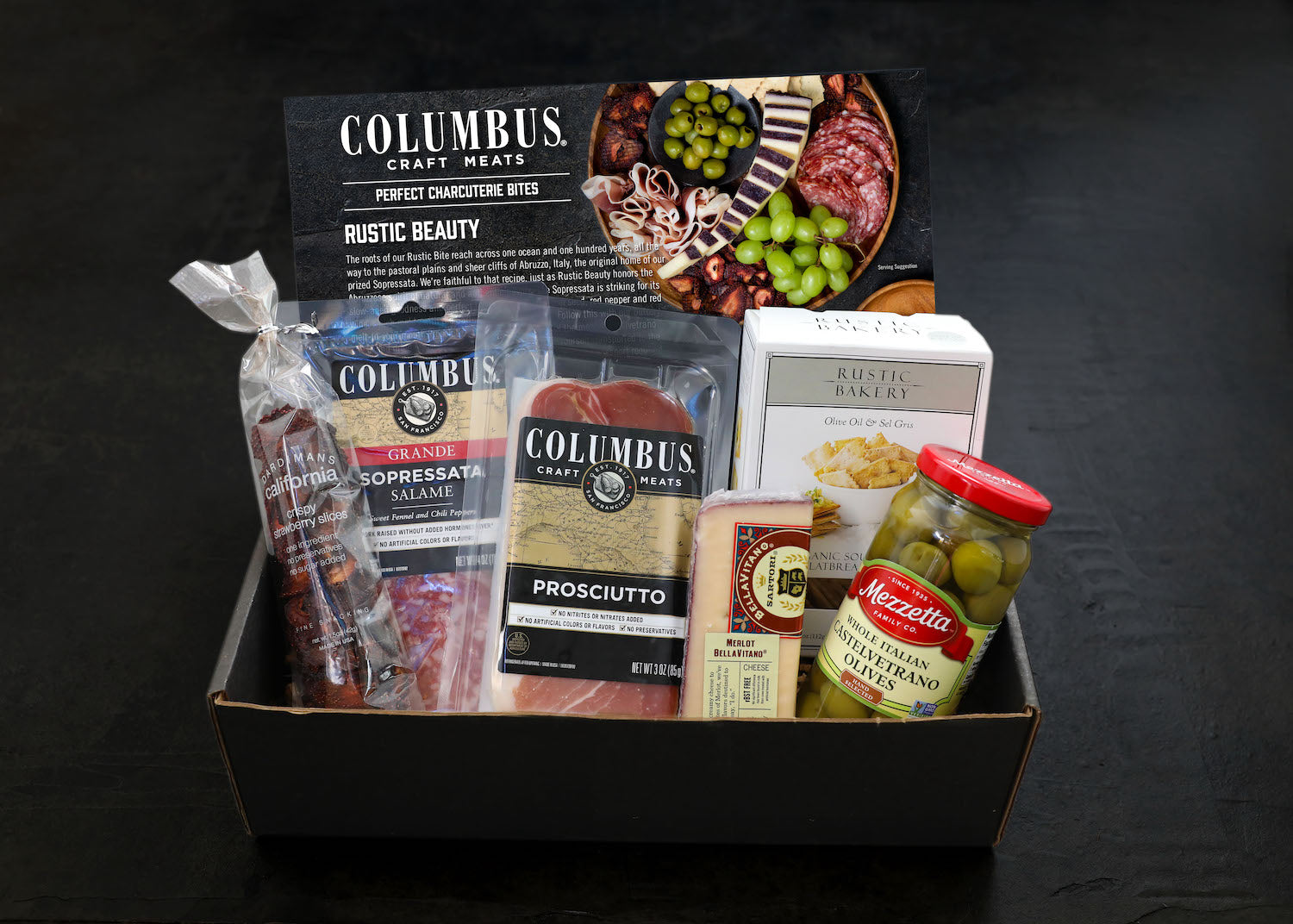 Perfect Charcuterie Bite - Rustic Beauty - Retail Price $54.99