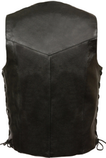 Load image into Gallery viewer, Side Lace Leather Vest