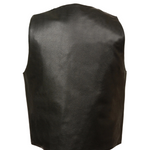 Load image into Gallery viewer, Plain Side Leather Vest