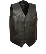 Load image into Gallery viewer, Classic Leather Vest