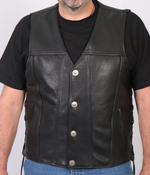 Load image into Gallery viewer, Premium Leather Vest