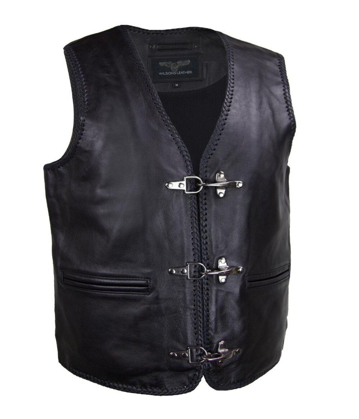 Cycle Leather Vest