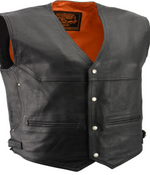 Load image into Gallery viewer, Pocket Leather Vest