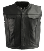 Load image into Gallery viewer, Leather Style Vest