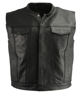 Leather Style Vest