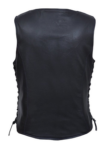 Lightweight Women leather vest