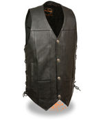 Load image into Gallery viewer, Side Leather Lace Vest