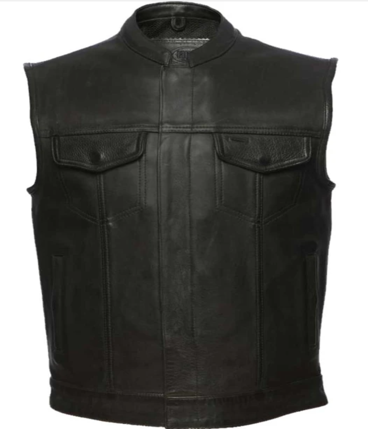 Concealment Leather Vest