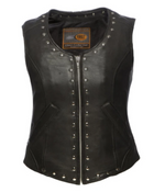 Load image into Gallery viewer, Leather Vest Pocket