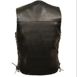 Load image into Gallery viewer, Black Leather Vest
