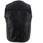 Load image into Gallery viewer, Classic Style Black Leather Vest