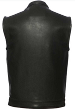 Load image into Gallery viewer, Concealment Leather Vest