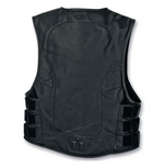 Load image into Gallery viewer, Stripped Black Vest